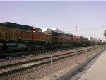BNSF 4087,BNSF 7230,BNSF 5060
