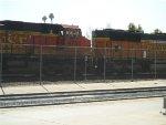 BNSF 4734/BNSF 8820