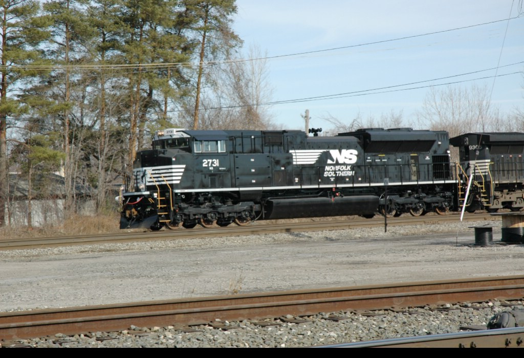 NS 2731, West on NS