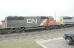 CN 6129 (IC), West on CSX