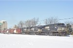 NS 9064 On NS 175 Eastbound