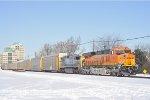 BNSF 7956 On CSX Q 227 Eastbound