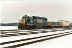 CSX 4297 and 1046
