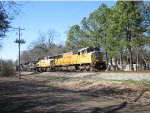 NS 16Z rolls east with six locomotives