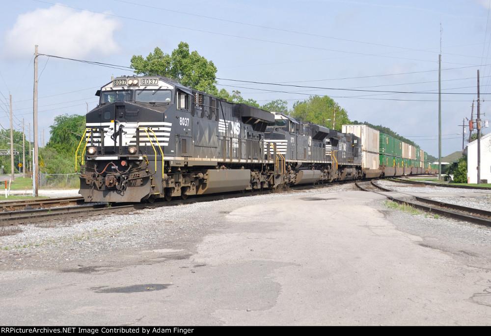 NS 8037 on NS 209