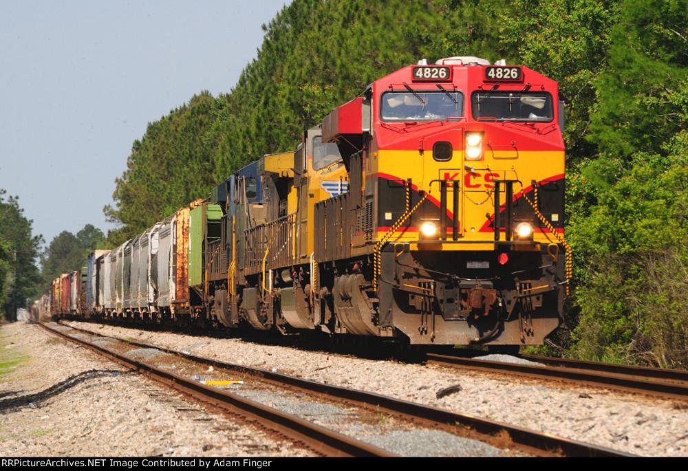 KCS 4826 on CSX Q606