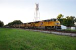 UP 8907 on CSX Q601 with six UPs and two KCS