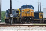 CSX 7929 with Marker Lights on