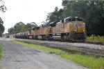UP 8496 on CSX WB Emtpy Sulfur Train