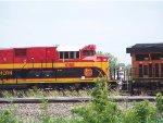 KCS SD70ACe 4166