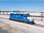 WAMX 3886 at KCS Dallas yard.