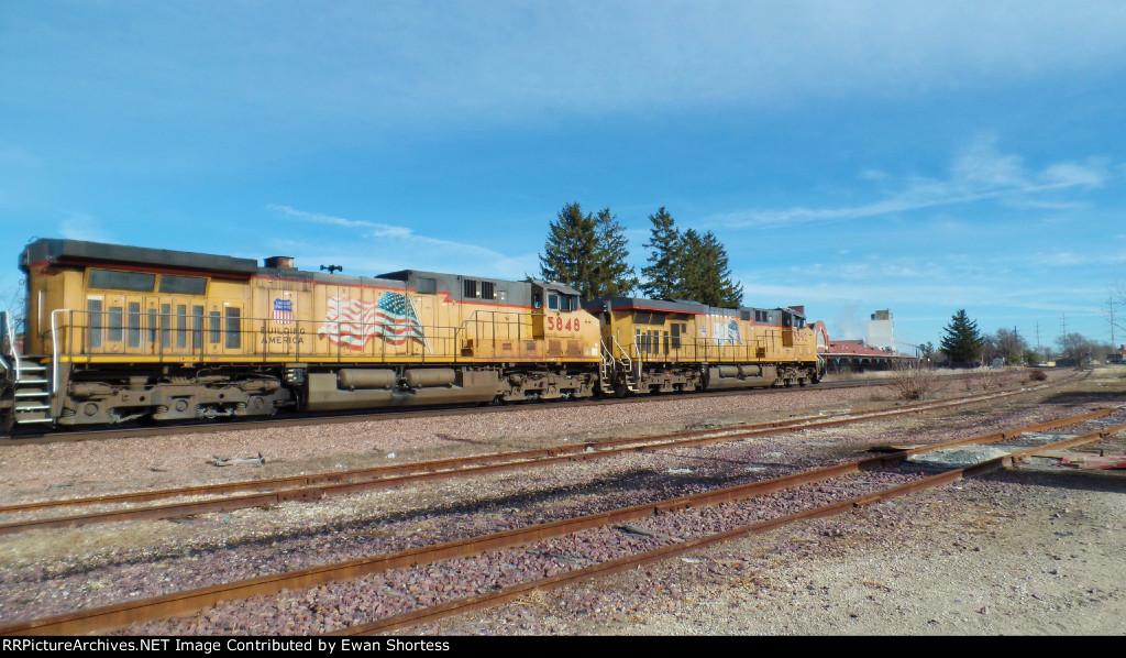 UP 5362 at Ames Depot