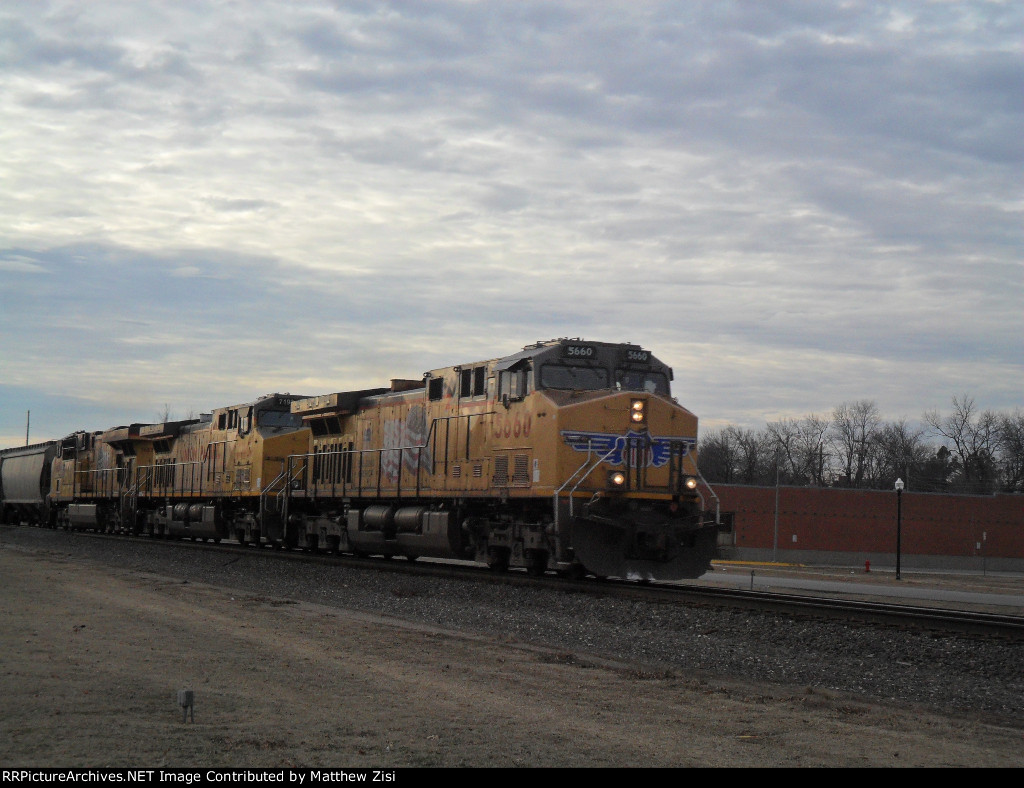 UP 5660 UP 7193 UP 7657