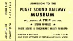 Puget Sound Railway Museum addmission