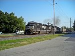 12G approached thru Front St. after 12G take a WIMX hopper cars (loaded stone) drop off into Wyoming siding