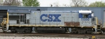 CSX 5886 sits in the yard