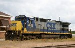CSX 7643, in the house track