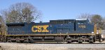 CSX 7795 has been repainted into YN3