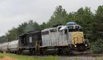 KLWX 2273 & 9548 lead a train