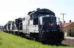 YVRR 8090 and others sit in the dead line