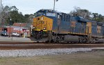 CSX 3139 leads T087 with coal for the Sunshine state