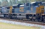 CSX 4832 on Southbound coal train
