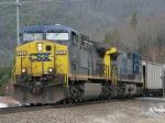 Mar 11, 2006 - CSX 472 leads CSX 377 on soutbound loads