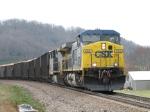 Mar 11, 2006 - CSX 434 leads train Q697 northbound