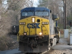 Mar 18, 2006 - CSX 153 leads southbound loads