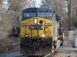 Mar 18, 2006 - CSX 153 leads southbound loads