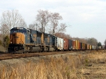 CSX 4770 Leads the Stink Train Northbound!