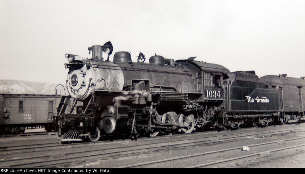 D&RGW 1034