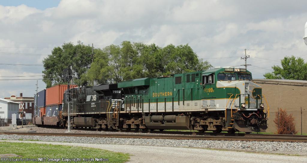 NS 8099 ES44AC (Southern Heritage)