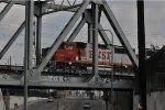 LA Bridge BNSF 155