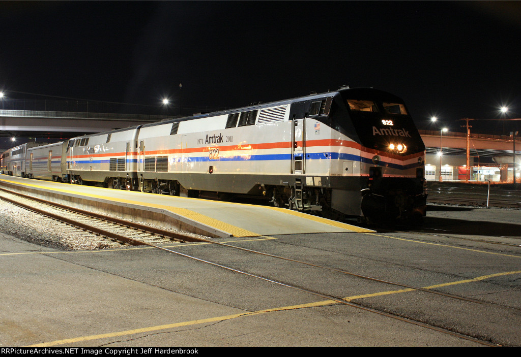 Amtrak heritage units.