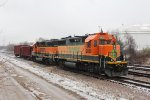 BNSF 2850 and BNSF 2331