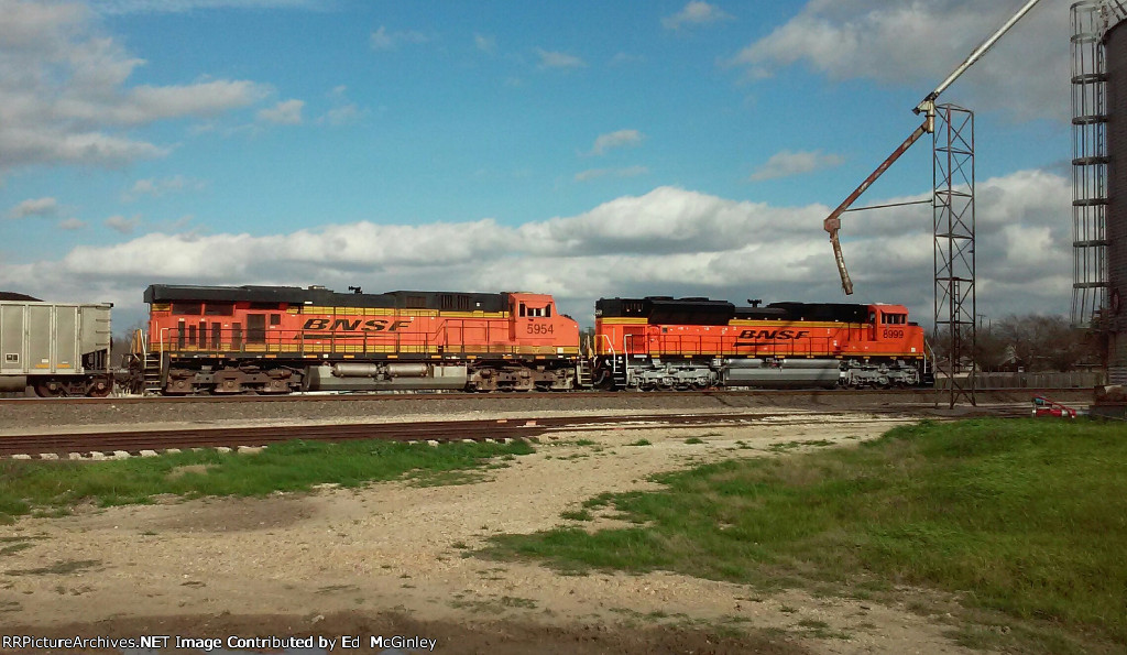 BNSF at Rogers