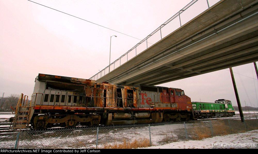 BNSF 876