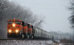 BNSF 7387 on the UP