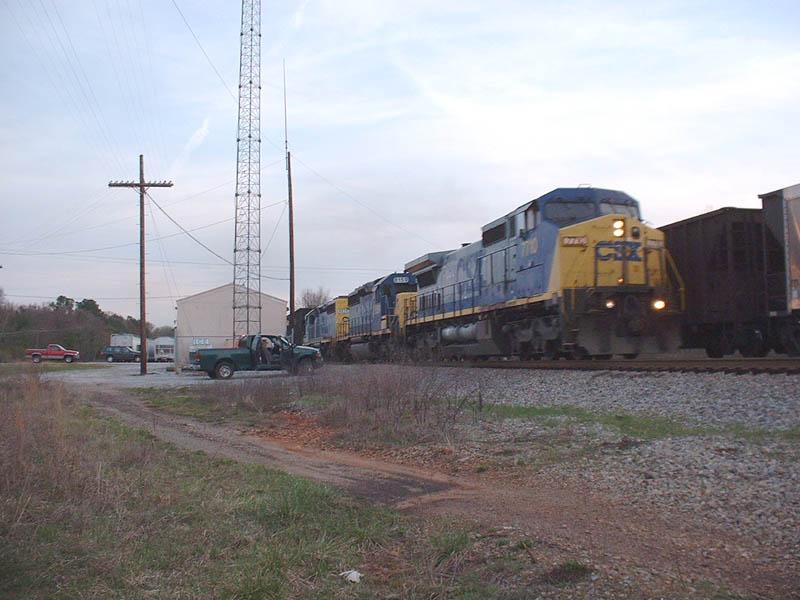 CSX Train Q691