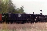 Norfolk & Western running East to South on SF trackage