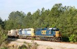 CSX 4430 & 8051 lead train F711 northbound