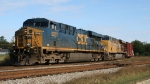 CSX 5237 & UP 5271 lead train Q491 southbound