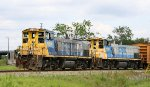 CSX 1184 & 1150 head back to the yard