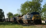 CSX 319 & 768 lead empty coal train U361-19 northbound