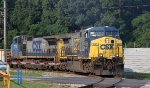 CSX 665 leads train F752 northbound