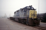 4 axle unit waits its next assignment in cayce yard