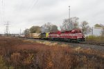 With the WSOR pair leading, GDLK303 starts south for Kalamazoo
