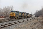 Coming to Plaster Creek, Q335-18 arrives at Wyoming Yard