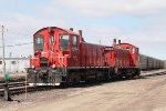 Resting in the CP Yard after bringing in Autoracks